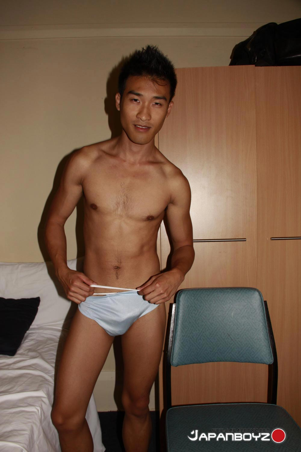 Asian guys in underwear